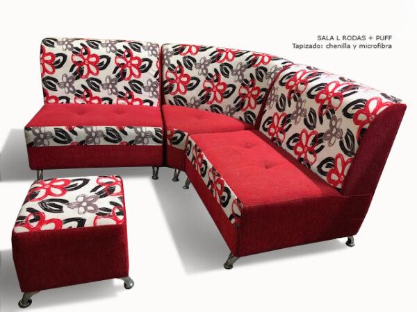 PROMOCIÓN -Sofa en L rodas