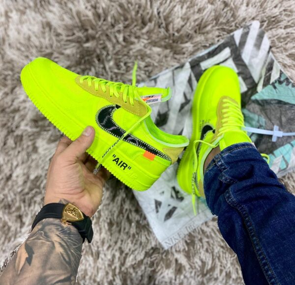 NIKE FORCE ONE OFF WHITE