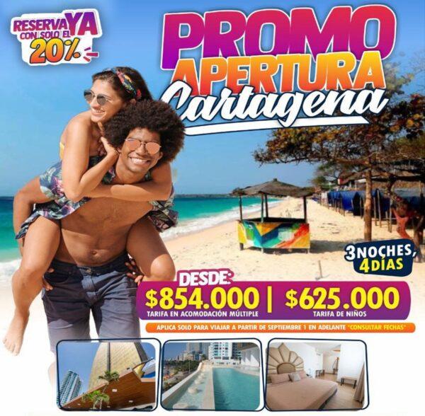 Promo apertura Cartagena